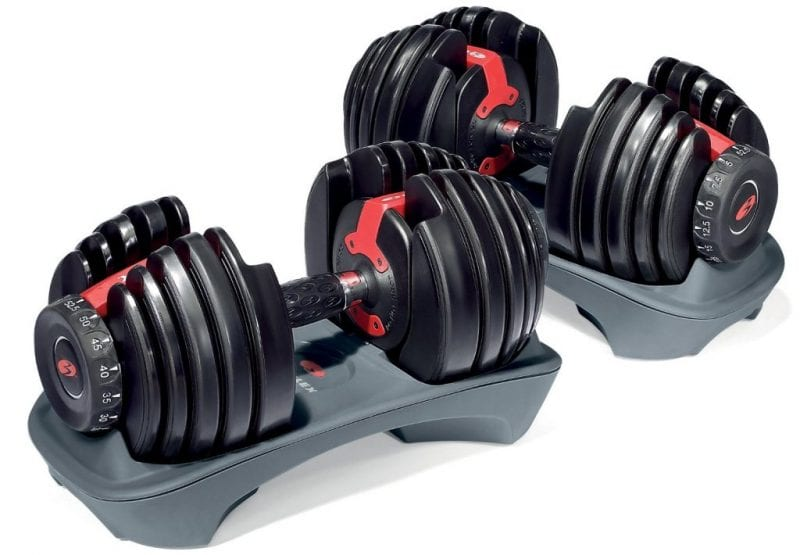 bowflex slecttech 552 adjustable dumbbells