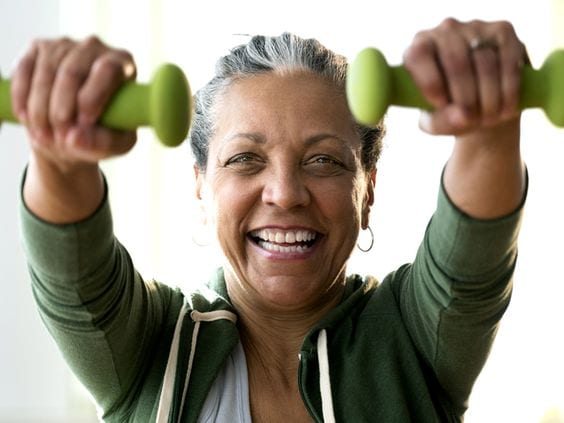 Dumbbell Exercises for Seniors: Stay in shape